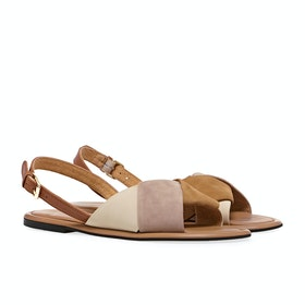 Joules Palmer Women's Sandals - Cappuccino