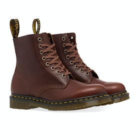 Dr Martens 1460 Boots - Brown Classic Veg Wp