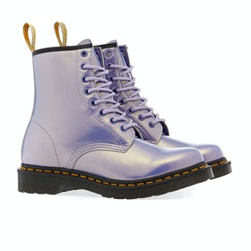Dr Martens 1460 Vegan Damen Stiefel - Purple Heather