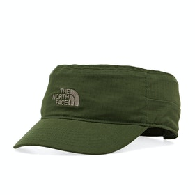 North Face Logo Military , Cap - English Green