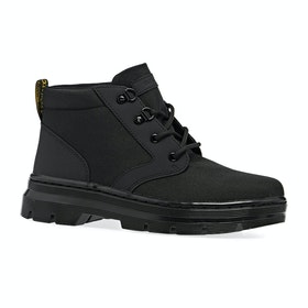 Dr Martens Bonny Boots - Black Extra Tough Nylon & Black Ajax