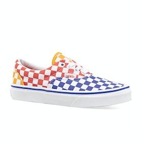 Vans Junior Era Kids Trainers - Tri Checkerboard Multi True White