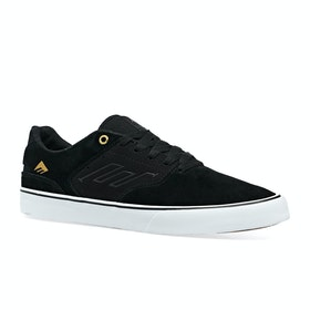 Emerica Low Vulc Shoes - Black Gold White