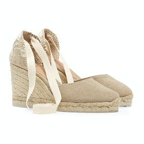 Castaner Carina H8 - Recycled Canvas Womens Espadrilles - Desierto