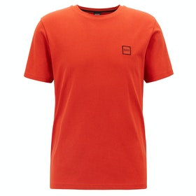 BOSS Tales Men's Short Sleeve T-Shirt - Dark Orange
