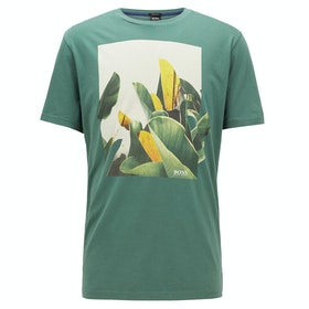 BOSS Tejungle 1 Top - Medium Green