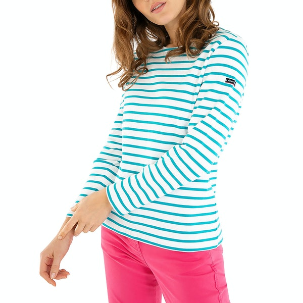 "Armor Lux Marinière ""Lesconil"" Women's Long Sleeve T-Shirt"