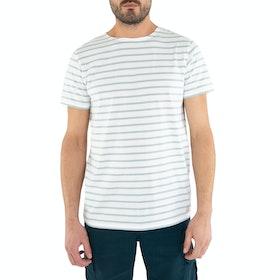 Armor Lux Mariniere Short Sleeve T-Shirt - Blanc Marsouin