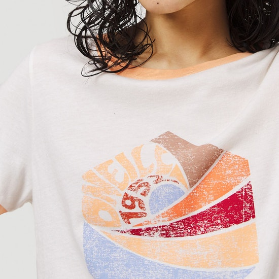 O'Neill Katie Damen Kurzarm-T-Shirt