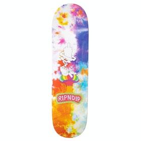 Rip N Dip Smokin Skateboard Deck - Multi