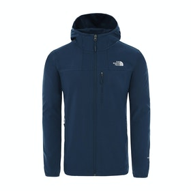 North Face Nimble Hooded , Vindtett jakke - Blue Wing Teal