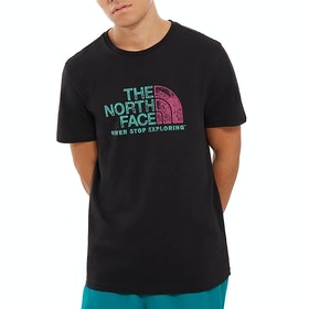 North Face Rust 2 Short Sleeve T-Shirt - TNF Black