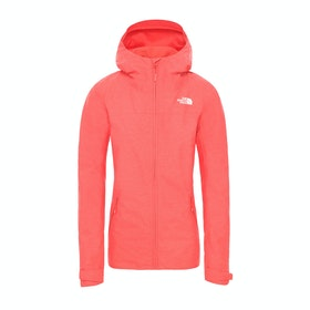 North Face Nevero , Jakke - Cayenne Red White Heather