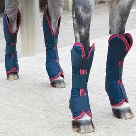 Stivali da Viaggio Shires Nylon - Navy Red White