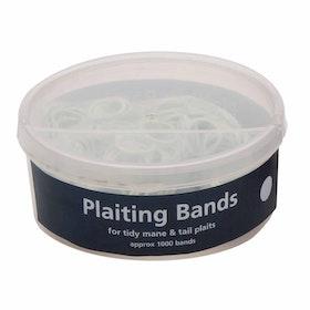 Shires Ezi Groom Plaiting Band - White