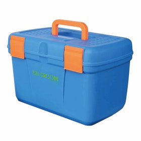 Shires EZI Groom Deluxe Grooming Box - Blue