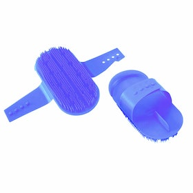 Pettine da Strigliatura Shires Plastic - Blue