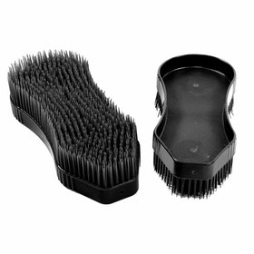 Pettine da Strigliatura Shires EZI Groom Detangler Brush - Black