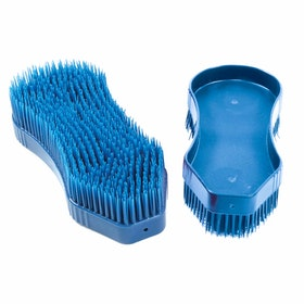 Pettine da Strigliatura Shires EZI Groom Detangler Brush - Blue