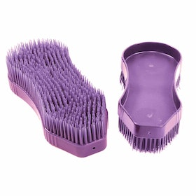 Pettine da Strigliatura Shires EZI Groom Detangler Brush - Purple