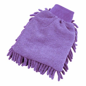 Guanto da Tolettatura Shires EZI Groom - Purple