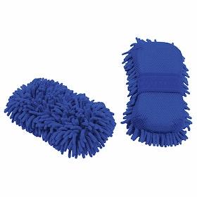 Shires EZI Groom Sponge - Blue