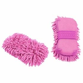 Shires EZI Groom Sponge - Pink