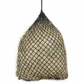Shires Soft mesh Haylage Net - Black