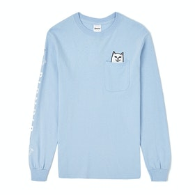 Rip N Dip Lord Nermal Long Sleeve T-Shirt - Baby Blue