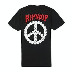Rip N Dip Expressions Short Sleeve T-Shirt - Black