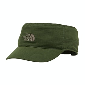 Casquette North Face Logo Military - English Green