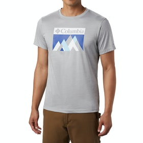 T-Shirt à Manche Courte Columbia Zero Rules Graphic - Columbia Grey H