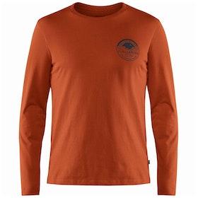 Fjallraven Forever Nature Badge Long Sleeve T-Shirt - Autumn Leaf