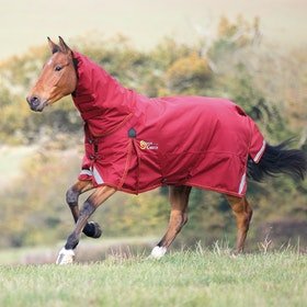Shires Stormcheeta Combo 200g Turnout Rug - Red
