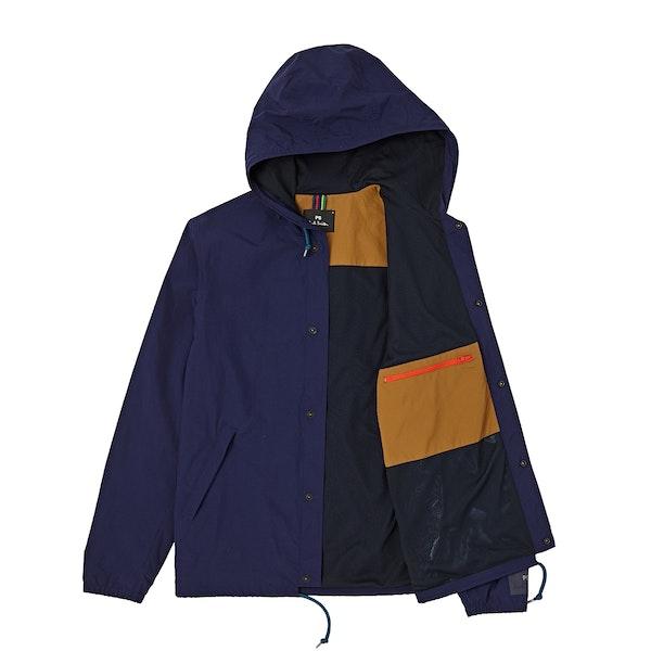Paul Smith Woven Hooded Jacke