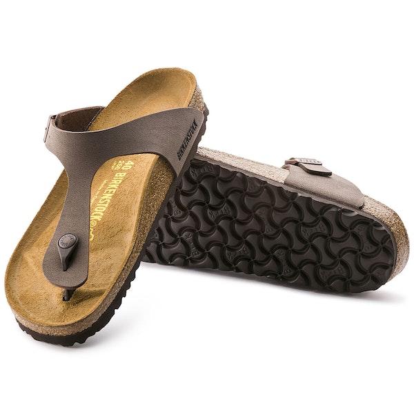 Birkenstock Gizeh Birko Flor Nubuck Sandals