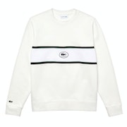 Sweater Homen Lacoste Non Brushed Panel And Badge Fleece