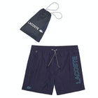 Lacoste Printed Taffeta Swim Shorts