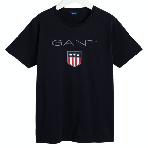 Gant Shield Logo 2 Kinder Kurzarm-T-Shirt