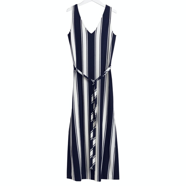 Gant Striped Maxi Jersey Dames Jurk