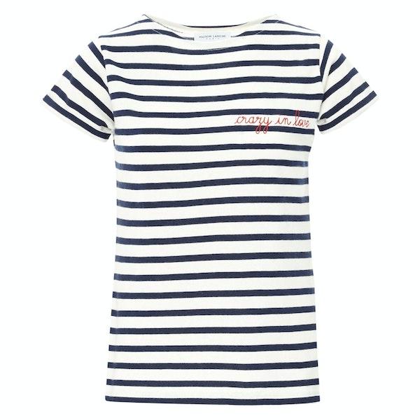 Maison Labiche Sailor Amour Kurzarm-T-Shirt