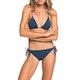 Roxy Sd Beach Classic Tiki T Ts Womens Bikini