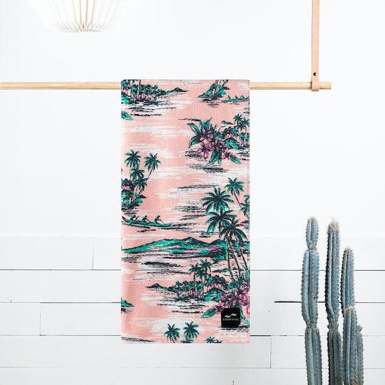 Slowtide Outrigger Beach Towel