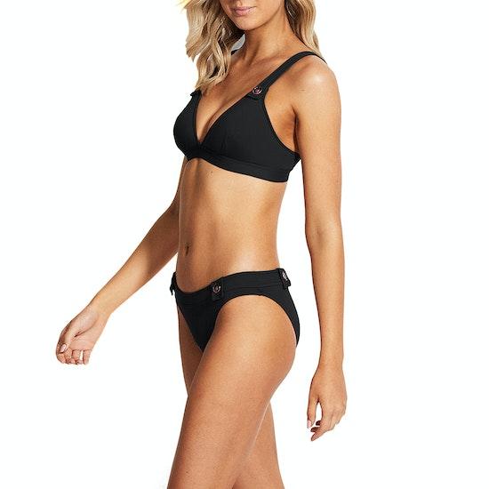 Seafolly Hipster W/ Buttons Womens Bikini Bottoms