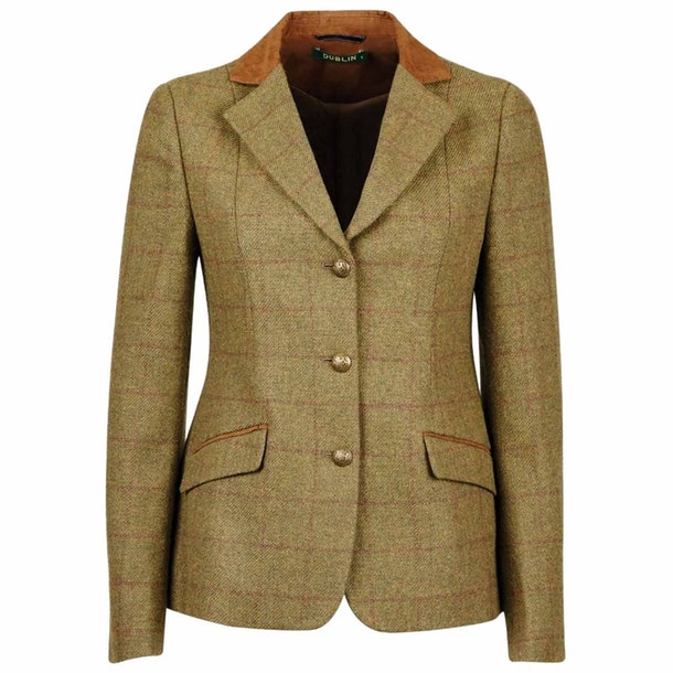 Dublin Albany Tweed Suede Collar Tailored Childrens Comp