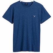 Gant Solid Men's Short Sleeve T-Shirt