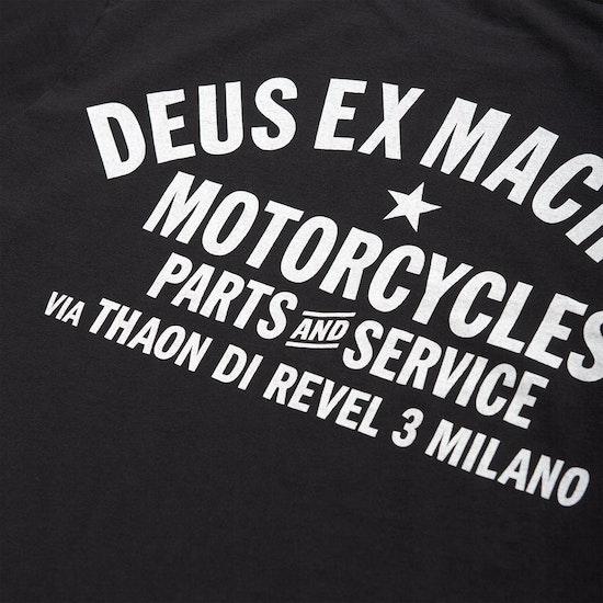 T-Shirt de Manga Curta Deus Ex Machina Milano Address