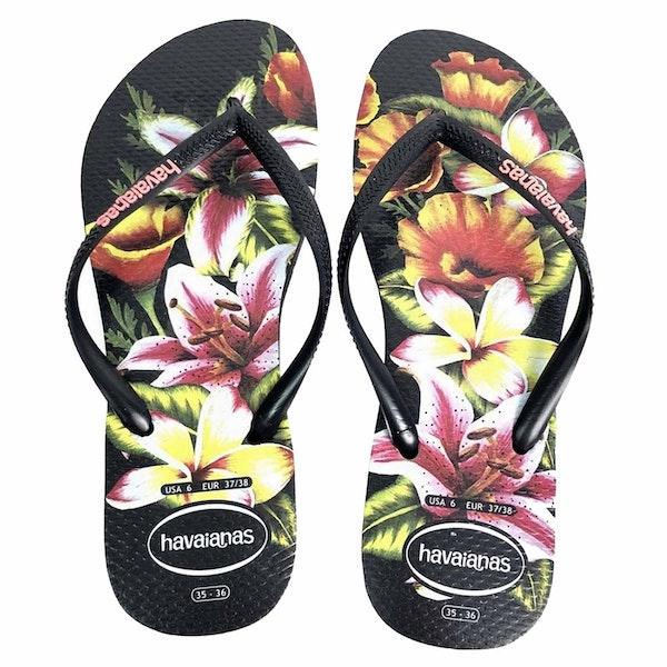 Havaianas Slim Floral Damen Sandalen