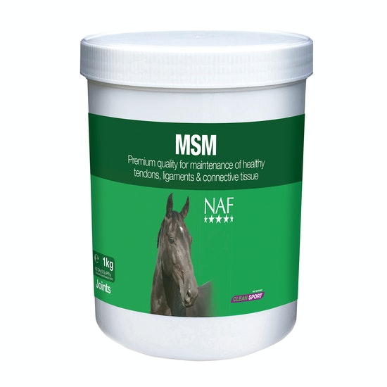 NAF MSM 1kg Joint Supplement