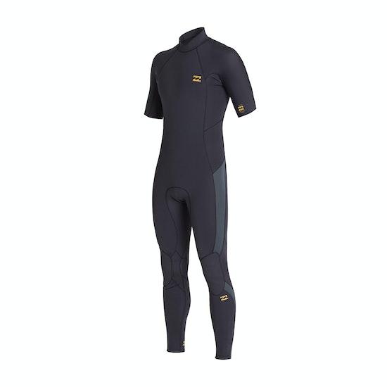 Billabong 2mm Absolute Back Zip Short Sleeve Wetsuit